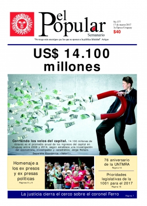 "Editorial de El Popular N° 377: ""Sacando los velos al capital"""