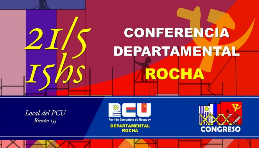 Conferencia Departamental PCU Rocha
