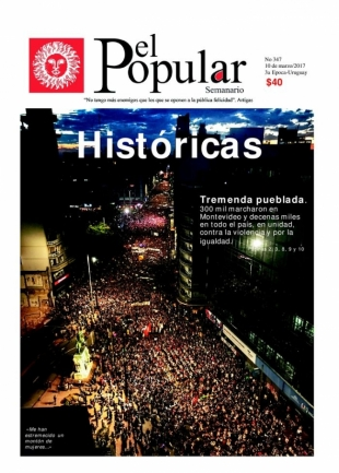 "Editorial de El Popular N° 376: ""Históricas"""