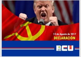 Declaración del PCU: Contra la amenaza imperialista