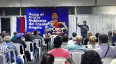 Oscar Andrade en Pando