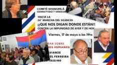 """La """"previa"""" a la 24a Marcha del Silencio desde Ciudad de la Costa"""